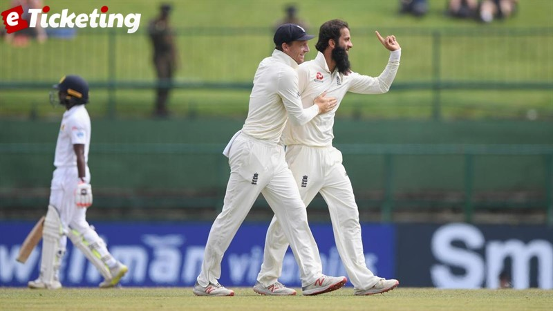 England vs Sri Lanka - A brief test history