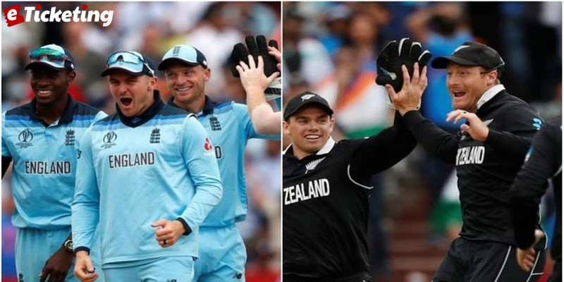 England Vs New Zealand Cricket Series 2019