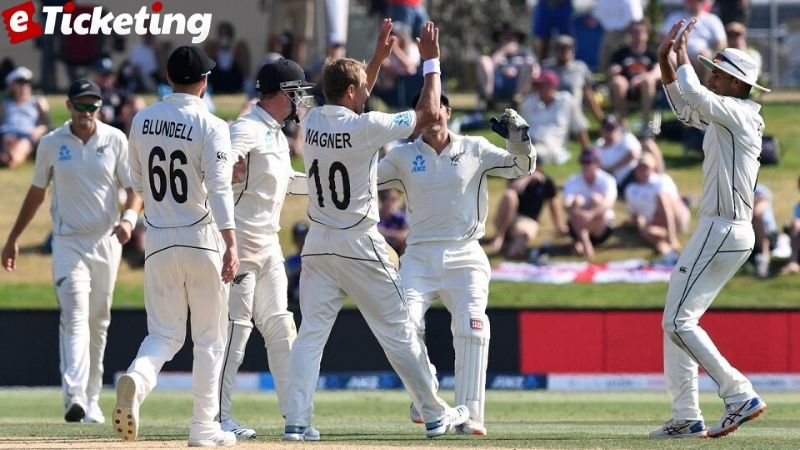 England vs New Zealand - Hosts win the first Test by innings & 65 runs