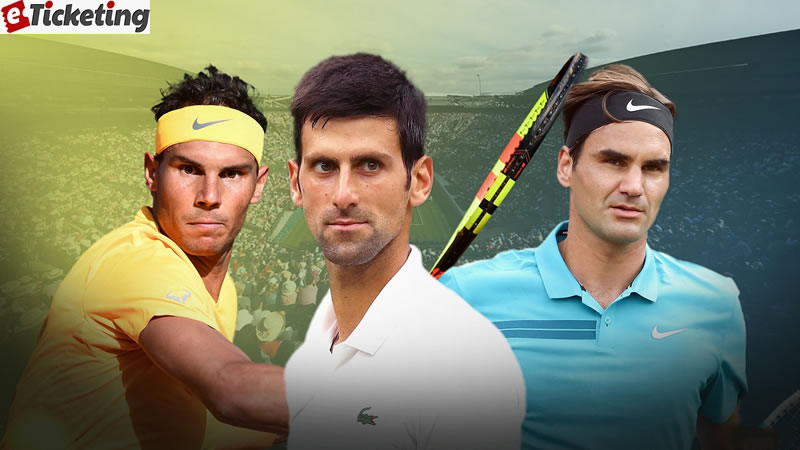 The level of Roger Federer, Rafael Nadal, and Novak Djokovic