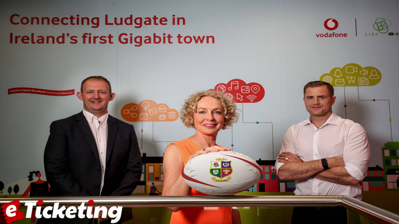 Vodafone named top sponsor of British and Irish Lions for SA tour
