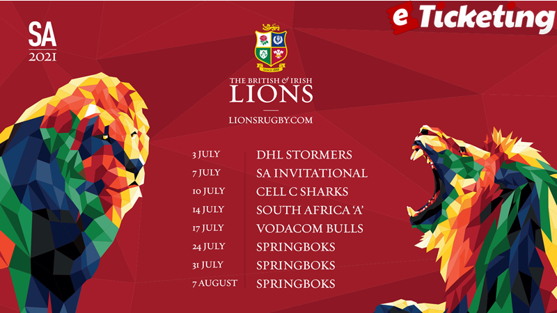British Lions Rugby tour 2021