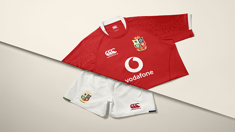 British and Irish Lions jersey revealed