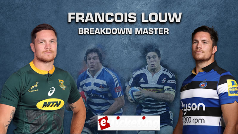 Francois Louw reckons the tourists will have a highlight demonstrate against the men dressed in green and gold