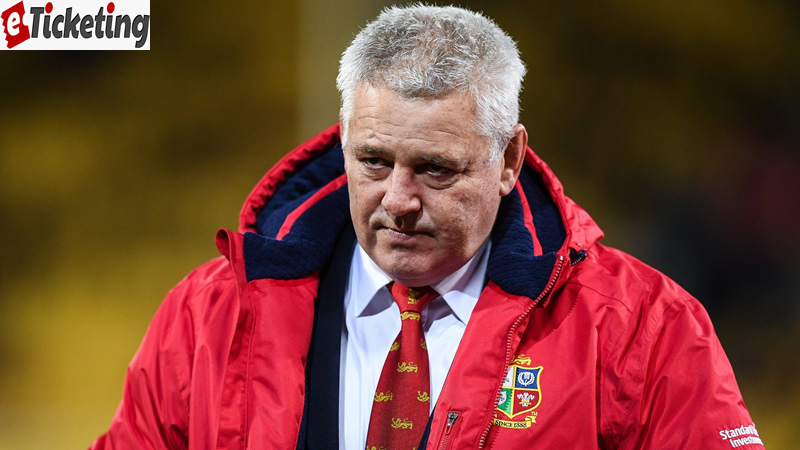 Difficult for Rob Howley to be British Lions coach – Warren Gatland