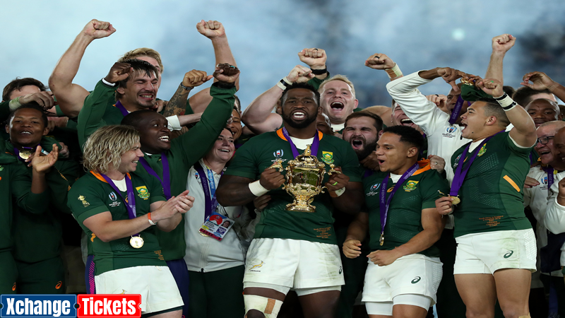 Rugby World Cup – Spotlight of South Africa Rugby World Cup Tickets and History