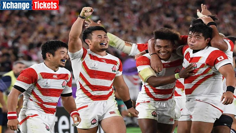 Rugby World Cup – Typical Matches of South Africa vs Japan and Japan vs Scotland at previous tournaments