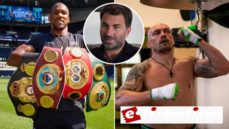 Buy Anthony Joshua Tickets - OLEKSANDR USYK has amusingly called out Anthony Joshua in his exceptional style.