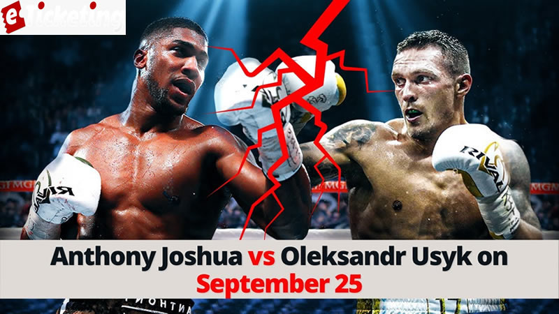 Anthony Joshua Tickets - Joe will battle whoever he needs to battle for that belt, then, at that point the champ of AJ versus Fury