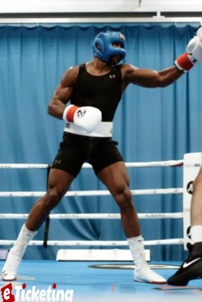 Anthony Joshua has left boxing fans feeling fairly astonished concerning his physical make-up in front of his forthcoming battle with Oleksandr Usyk on September 25
