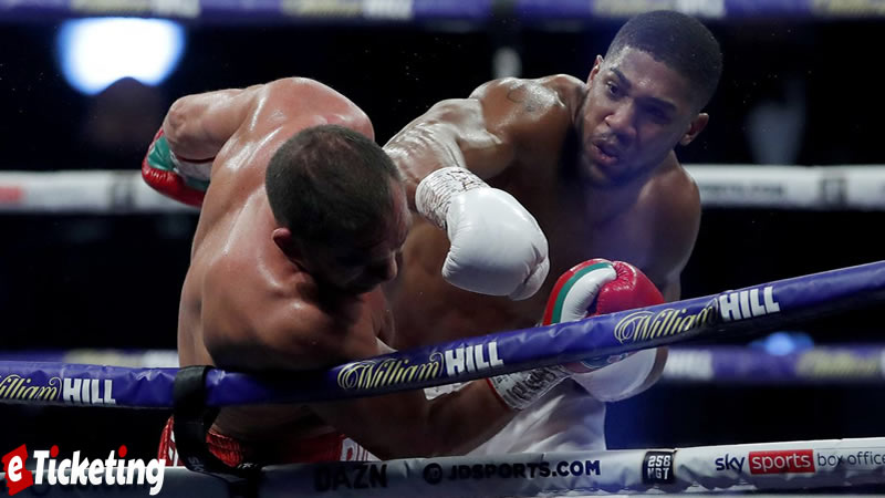 Anthony Joshua Boxing Tickets - Size gives Joshua a benefit on the off chance that it gets into a trade and there's a firefight