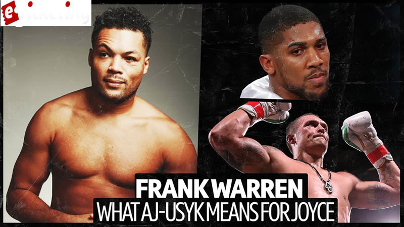Tickets for Anthony Joshua - Usyk is very skillful, he has a ton of family as a learner, he shattered Joe Joyce