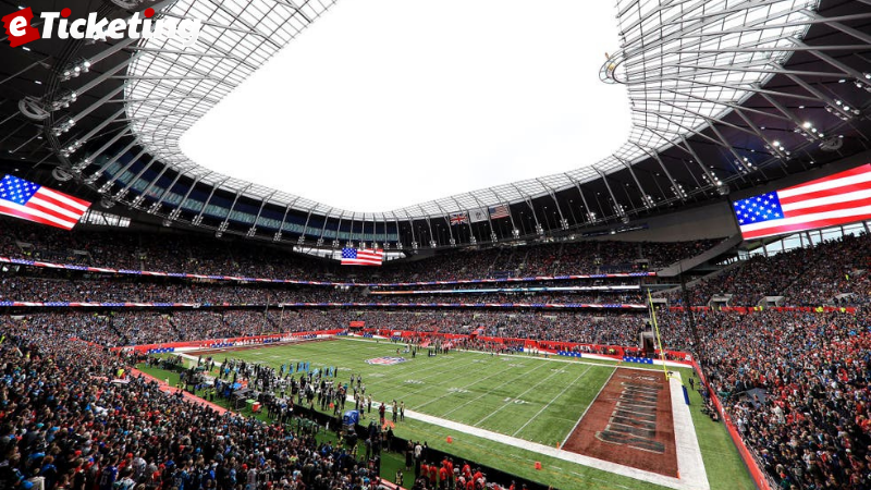 The Cinch brand will be presented at Tottenham Hotspur Stadium, home of the NFL London