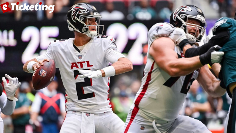 NFL London: Shortage delayed positive signs of Falcons main rushing attack