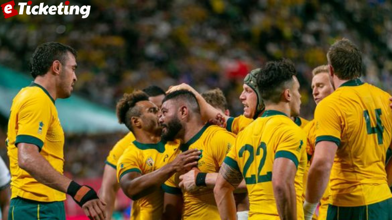The Wallabies dared to dream that they might just have a shot at winning the 2023 Rugby World Cup in France