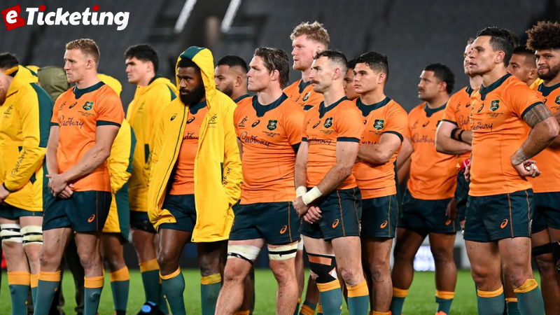 The New World Rugby Ranking Table showing Australia's flow and South Africa's two-year rule