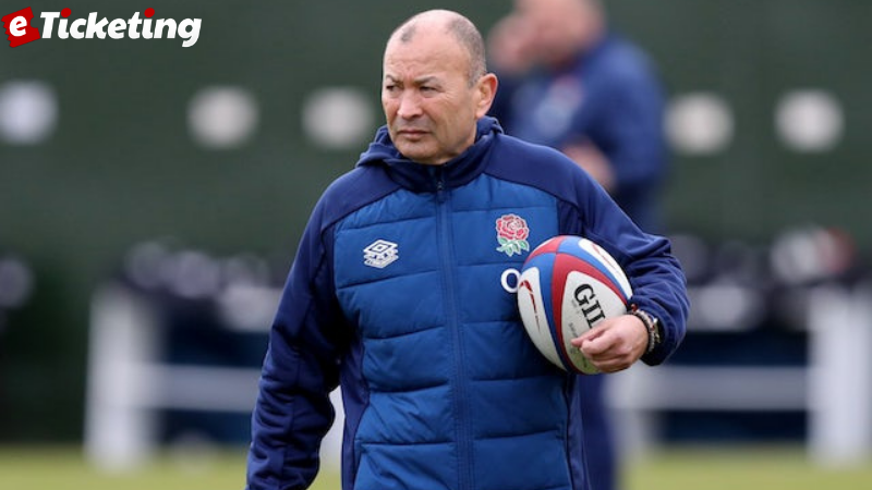 After the 2023 Rugby World Cup England coach Eddie Jones confirms the agreement decision