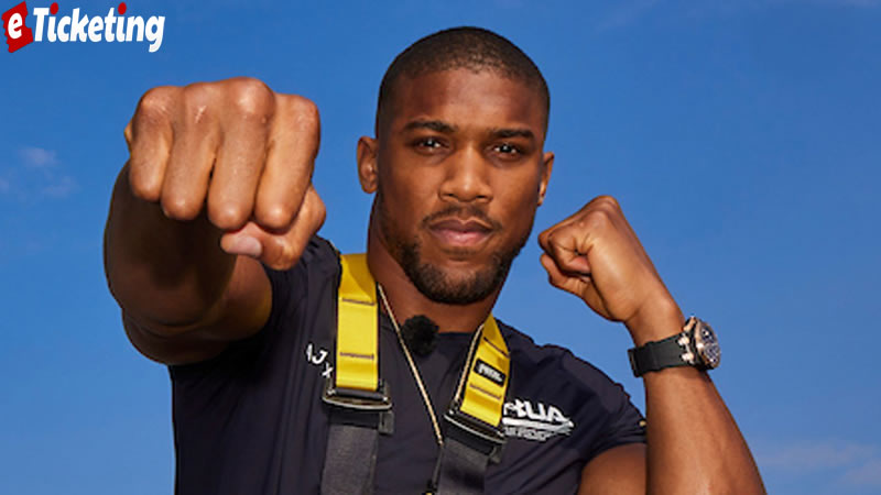 Anthony Joshua Tickets - Joshua will have had more practice against southpaws than Joyce had