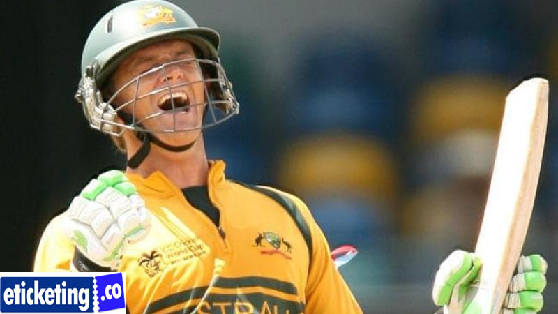 Australia vs West Indies Tickets - Adam Gilchrist is extensively observed as solitary of the paramount wicketkeeper-batter in the antiquity of the game