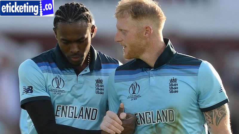 England vs South Africa Tickets - Ben Stokes and Jofra Archer expected a gigantic part in England's ODI World Cup win in 2019