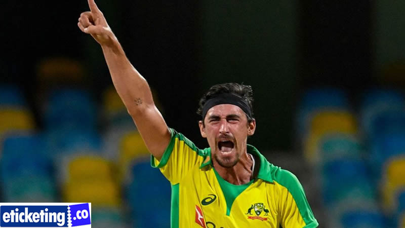 England vs Australia Tickets - Mitchell Starc has had the option to prepare in Queensland however it has been really difficult for some different players