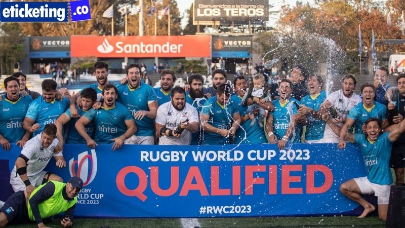 2023 Rugby World Cup the All Blacks to play their first Test against Uruguay