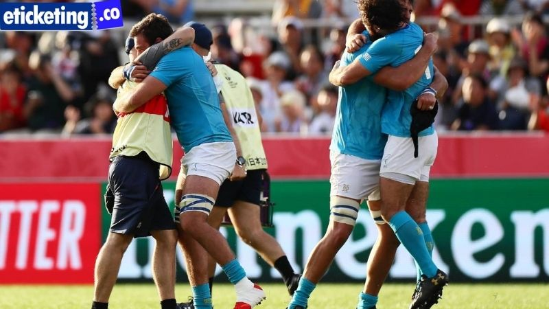 Uruguay takes on the All Blacks after the 2023 Rugby World Cup qualify