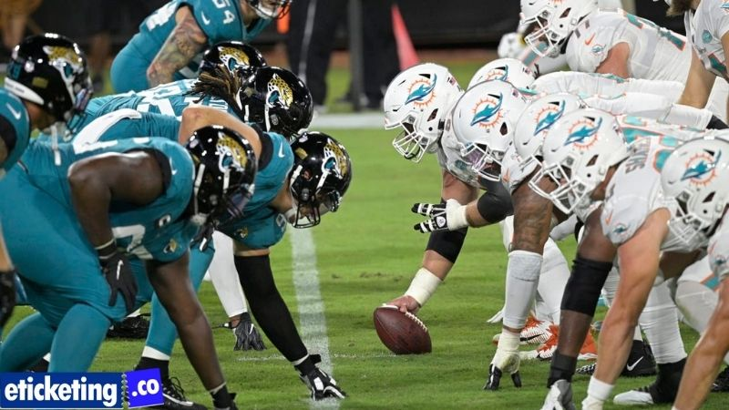 NFL Fans can buy Second NFL London game tickets for the Jacksonville Jaguars vs Miami Dolphins