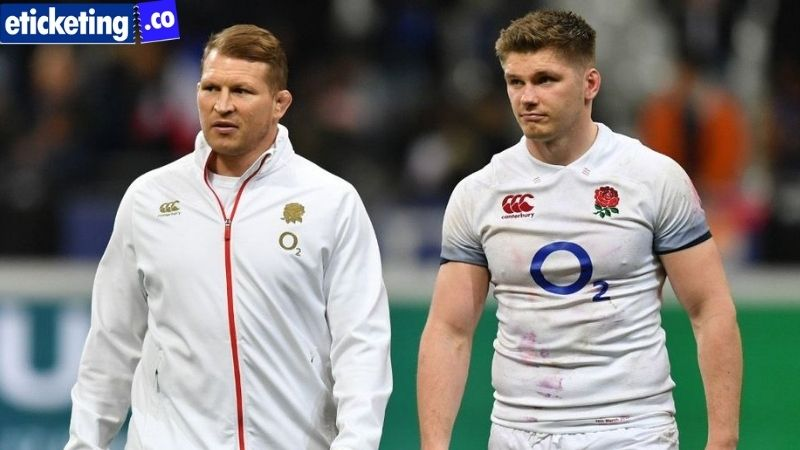 Farrell took over as England captain from Hartley in 2019
